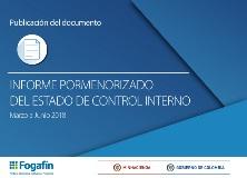 Informe pormenorizado del estado de control interno vigencia marzo - junio 2018