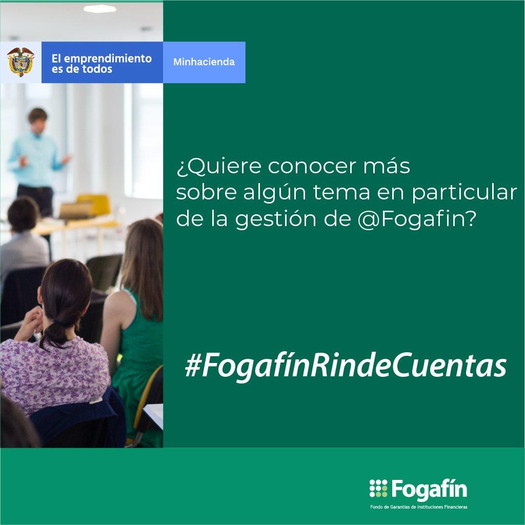Fogafín Rinde Cuentas 2019